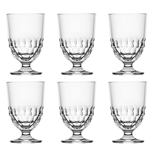 La Rochère Trinkglas, Wasserglas 'Artois', 315ml, Ø 8,3x12,6cm (6 Stück)