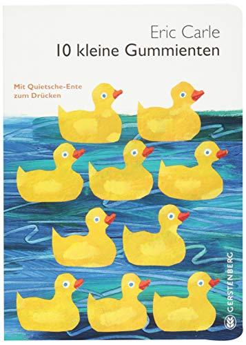 10 kleine Gummienten: Mit Quietsche-Ente zum Drücken