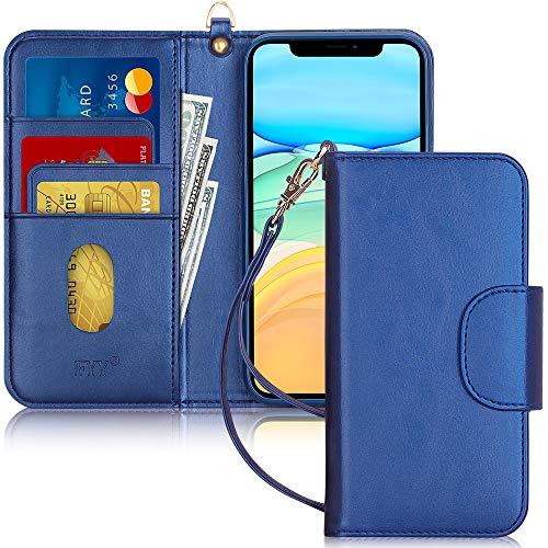 FYY Funda iPhone 11 Pro MAX, Funda iPhone 11 Pro MAX 6.5', [función de Soporte] Flip Funda Cartera Libro de Piel PU Premium con Ranura para Tarjetas para iPhone 11 Pro MAX 6.5' 2019