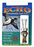 Echo Calls Diamonwood Timbers Double Reed Duck Calls, Natural