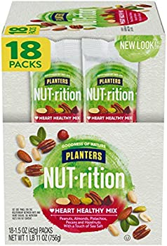 18-Pack Planters Nut-rition Heart Healthy Mix 1.5 Oz Bags