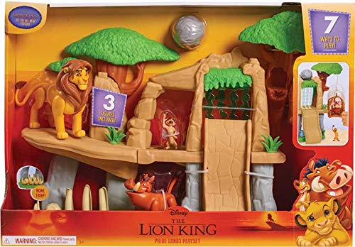 Lion King - Classic Pride Land Play Set, Including 3 x Favourite Figures from The Movie, Approx 50cm x 30cm!