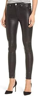 brandMe Women's Leather Pant Genuine Lambskin Skinny Slim fit Leather Pants MP021