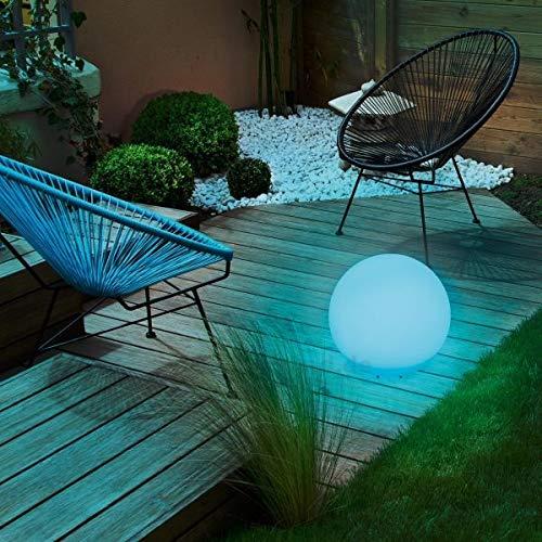 GWSOLAR【ソーラーボールライト・直径20CM】磨りガラスような質感でボリューム感の光りと演出し、癒し空間を作る!!配線不要なソーラー式/日亜製LEDホワイトカラー&マルチカラー7色(お好み色調節可)、夜間自動点灯・昼間自動消灯/ニッケル水素充電池内蔵、付属スパイク2本付き、防水規格:IP65、用途:イルミネーション、お店のディスプレー、キャンプ場、お庭・ベランダ・パーティ会場GW