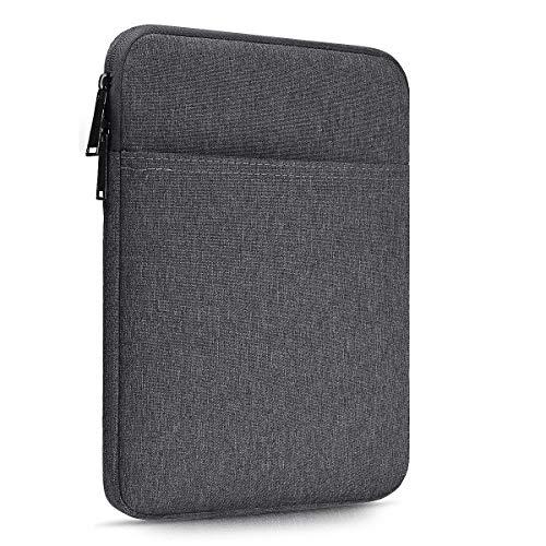 CaseBuy ipad pro 10.5 ケース 10インチ ipad スリーブケース タブレット インナーケース Surface Go 10 9-10.5 Lenovo Tab 10 Smart Tab M10 P10 10.1 inch/Samsung Galaxy Tab 10.1 10.5 Androidなどに対応 防水 360度保護 スリム カバー フィルム対応 アクセサリーポケット付き、ラップトップ 薄型(スペース グレー)