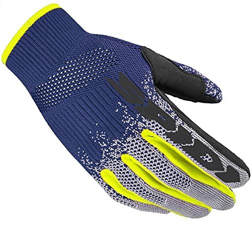 Spidi X-Knit Guanti da moto Blu/Grigio XL