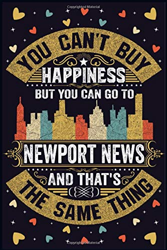 Newport News Notebook: Home City Newport News in Virginia Pride Flag Journal