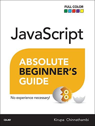 JavaScript Absolute Beginner's Guide: JavaSc Absolu Begi ePub1