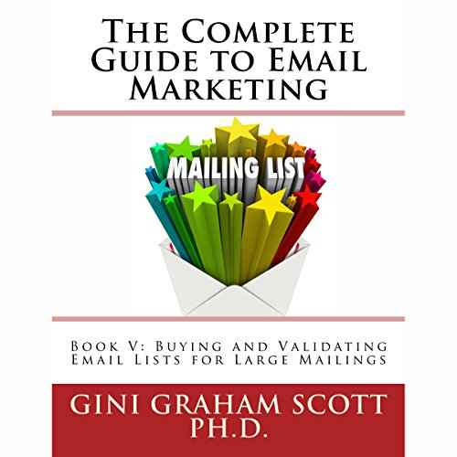 Couverture de Buying and Validating Email Lists for Large Mailings