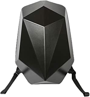 16-Inch Laptop Bag Multi-Faceted Mech Backpack Backpack Multi-Function Large Capacity Bag (Color: Gray, Size: 16 Inches)