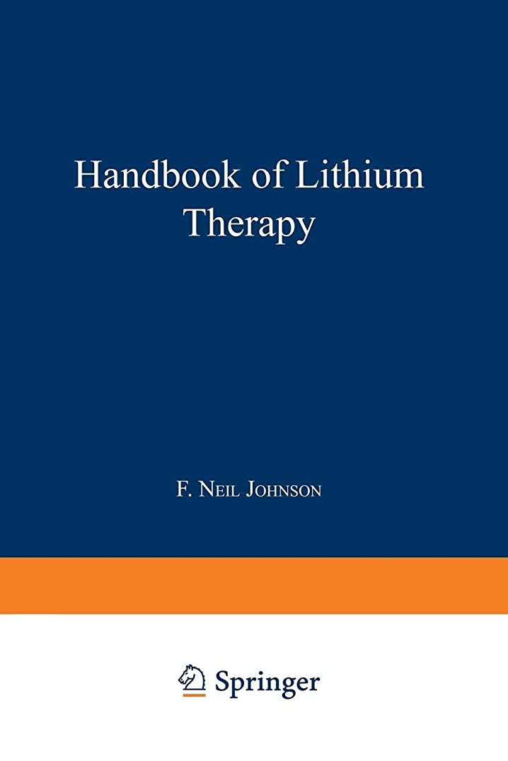 気難しい傾向があるベルベットHandbook of Lithium Therapy