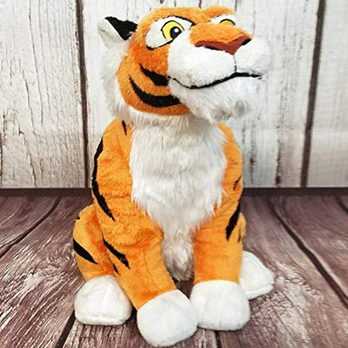 Peluches Nuevo Aladdin Tiger Rajah Plush para Niñas Niños 32cm Niños Peluches Juguetes Niños