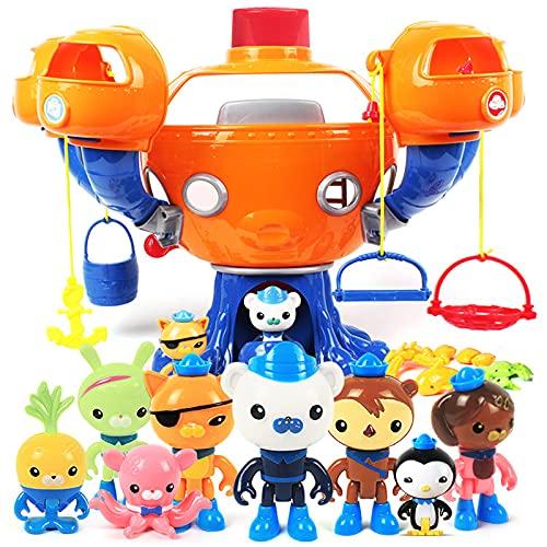 Octonauts Spielzeug Klang und Licht Die Octopod Castle Octonauts Figuren Babykinder Beste Geschenk
