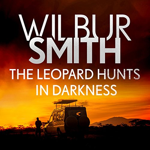 The Leopard Hunts in Darkness audiobook cover art