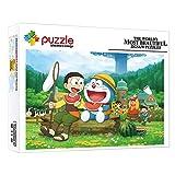 Decoración Rompecabezas Educativos Dibujos Animados De Anime Doraemon 1000 Piezas Baby Puzzles Puzzle Para Adultos Niños Regalo De Cumpleaños Para Desarrollar La Imaginación De Los Niños 30 X 20 In