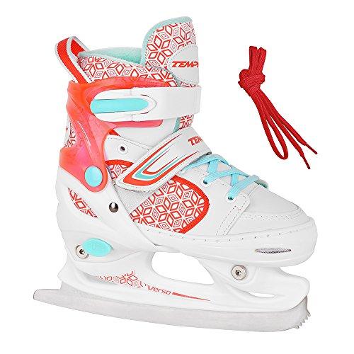 TEMPISH Schlittschuhe für Kinder RS Verso Ice Girl red - Größen 26-29, 30-33, 34-37 verstellbar (26-29 verstellbar)