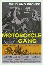 Motorcycle Gang Movie Poster (27 x 40 Inches - 69cm x 102cm) (1957) -(Steven Terrell)(Anne Neyland)(John Ashley)(Carl 'Alfalfa' Switzer)