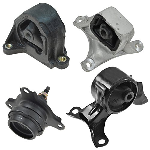 Engine Manual Transmission Motor Mount Kit Set of 4 for Civic Si RSX 2.0L MT