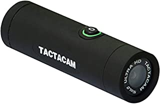 TACTACAM SOLO - Ultra HD Shock Resistant Video Action Camera with 3X Zoom -Gun Package