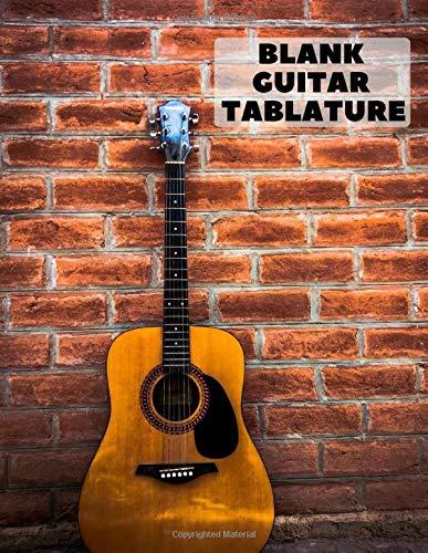 Blank Guitar Tablature: A 150 page blank guitar tab book