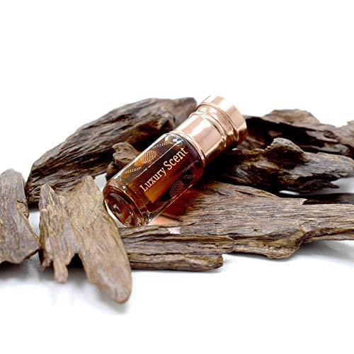 LUXURY SCENT Dehnal oud indisches oud parfümöl von luxury scent 3 ml tiefes starkes holzöl indisches agarwood premium qualität