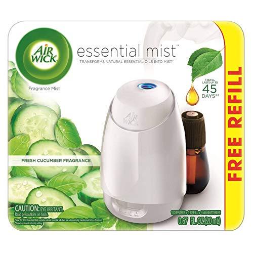 Air Wick Essential Mist Duftspray für Gurken mit gratis Nachfüllpackung, 1 Stück