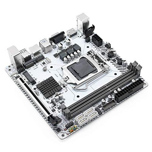 LBWNB Tarjeta Madre Fit For JGINYUE H97 Motopular De Escritorio LGA 1150 para I3 I5 I5 I7 Xeon E3 Procesador DDR3 16G 1333 / 1600MHz Memory WiFi M.2 NVME Mini-ITX H97I-PLUS Placa Base para Juegos
