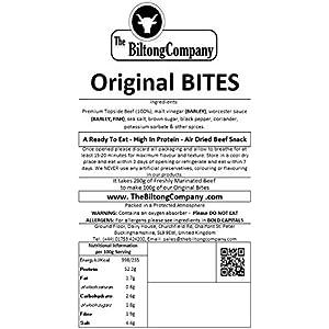The Biltong Company Biltong BITES - 250g - ORIGINAL Flavour