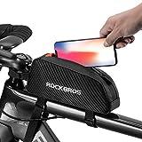 Immagine 1 rockbros borsa telaio bici impermeabile