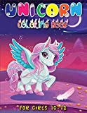 Unicorn Coloring Book for Girls 10-12: Top Quality Unicorn Coloring Book With Stunning High Quality Illustrations(unicorn gifts for girls)