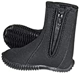 NeoSport Wetsuits Youth Premium Neoprene 5mm Youth's Boots, Black,3 - Water Shoes, Surfing & Diving