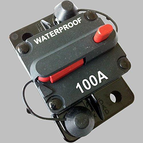Sicherungs-Automat 100Amp mit Resetschalter / Aufbauversion
