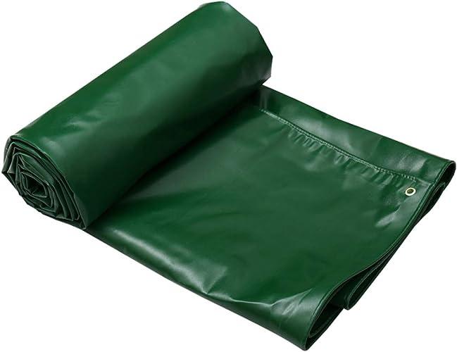 GLJ épaissie Poncho Bache Solaire Prougeection Solaire Auvent Auvent Tissu Camion Bache Bache Toile Personnalisée bache (Couleur   vert, Taille   3  2m)