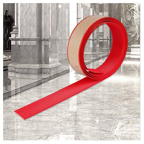 Cinta Antideslizante30M, Cinturón Antideslizante para Escaleras Autoadhesivo,Cinta Antideslizante para Pisos Lisos y Escaleras en Jardines de Infantes.(Rojo) (Size : 45M)