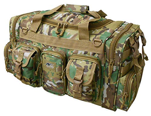 NPUSA Mens Large 22' Multicam Duffel Duffle Military Molle Tactical Gear Shoulder Strap Travel Bag