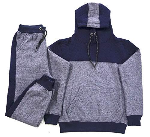 Coton Coupe Baby-Boys [1-14 jaar] Zacht katoenen fleece hoodie-trainingspak