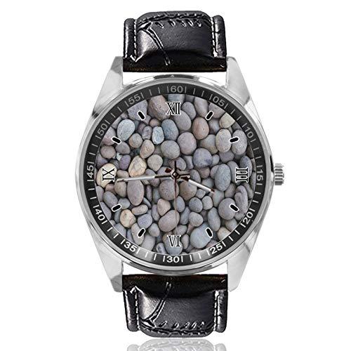 Pebble - Reloj de pulsera para mujer, estilo clásico, simple, diseñado para mujer, simple y de moda