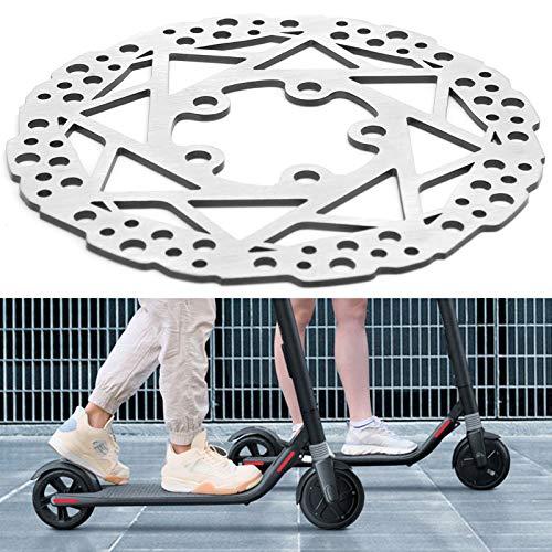 214 Disco de Freno, Accesorios de modificación de Bicicleta eléctrica de Bricolaje Disco de Freno Duradero y Resistente a la corrosión para Scooter eléctrico M365 / 1S / Pro / PRO2