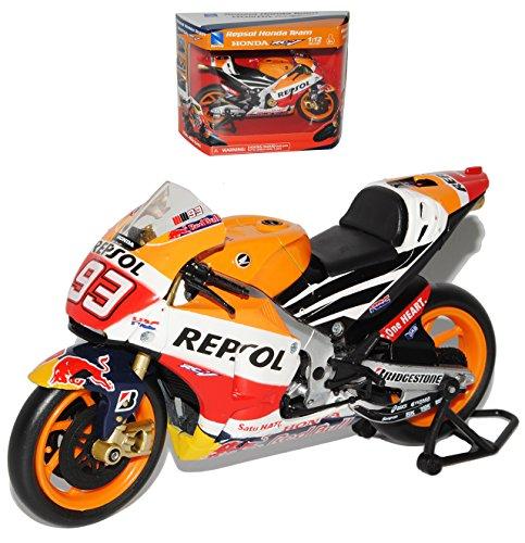 New Ray Hon-da Repsol RC213V Nr 93 Marc Marquez 2015 er Version Weltmeister 2013 2014 MotoGP 1/12 Modell Motorrad Modell Auto