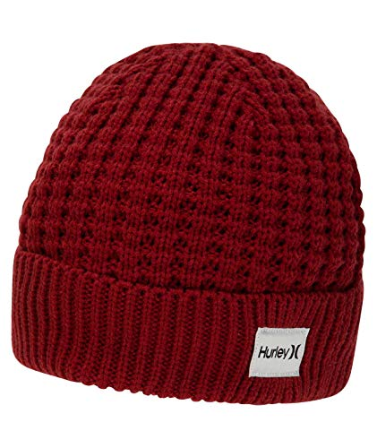Hurley CI7104 Gorros, Hombre, Team Red, 1SIZE