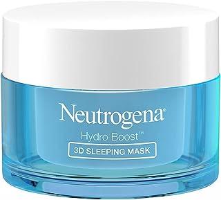 Neutrogena Hydro Boost 3d Sleeping Mask, White, 50 g