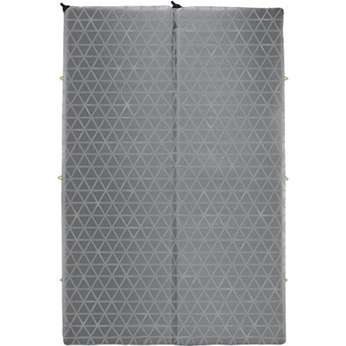 Therm-a-Rest Synergy Isomatte für Doppelbett, Grau