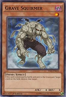 Yu-Gi-Oh! - Grave Squirmer (YS15-ENL13) - Starter Deck: Dark Legion - 1st Edition - Common