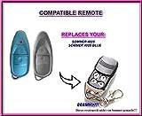 Somer 4025 TX02-868-2 Ersatz-Fernbedienung (868,8 MHz) 100% kompatibel mit 868 MHz Sommer-Fernbedienungen. Rolling Code!! !