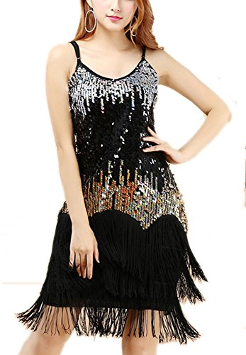 Whitewed Roaring 20s 20's 20 Century Vintage Gatsby Flapper Style Dress Costumes