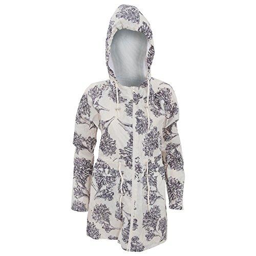 Textiles Universels Manteau de Pluie Repliable - Femme (FR 42) (Crème)