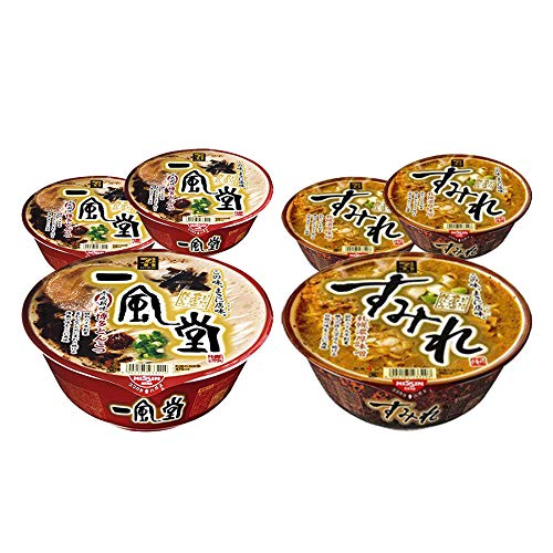 [Value Pack] IPPUDO & SUMIRE Japanese Famous Ramen Shop's Instant Noodle 3by3 Set 一風堂 & すみれ