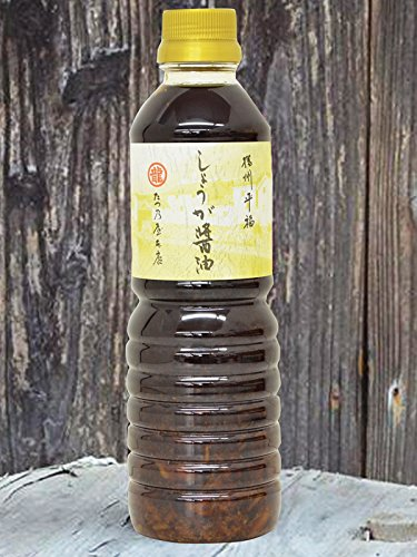 たつ乃屋本店 訳あり しょうが醤油 ペットボトル(500ml)