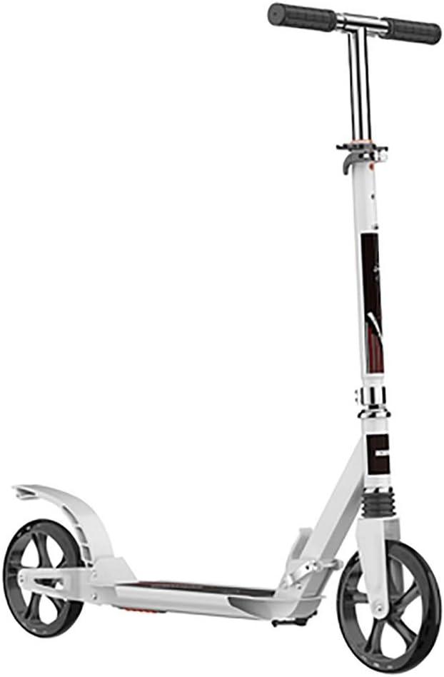 ZHANGCHUNLI Patinete 3 Ruedas Scooter para Niños Vespa Plegable no eléctrico for Adultos y Adolescentes, 300kg de Carga máxima