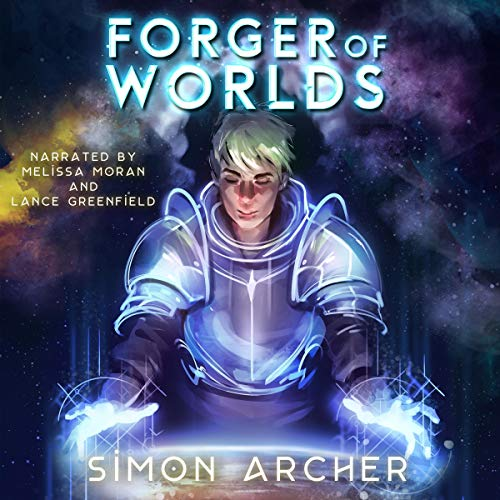 Forger of Worlds audiobook cover art